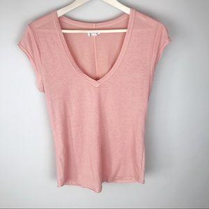 Intimately Free People V neck T-shirt Medium